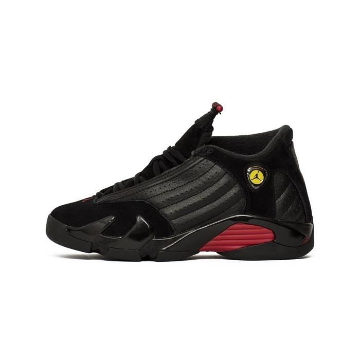 huge discount 575bb 3520c BASKET Chaussures Nike Air Jordan 14 Retro BG Last Shot