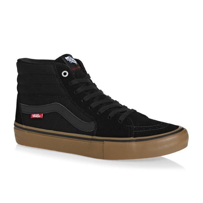vans chaussure noir marron