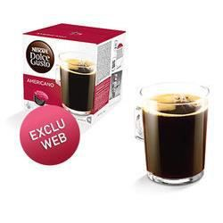 nescaf dolce gusto americano x16 dosettes achat vente. Black Bedroom Furniture Sets. Home Design Ideas
