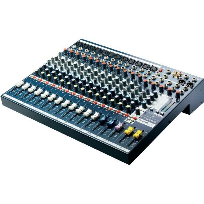 table de mixage soundcraft efx12 table de mixage avis et prix pas cher cdiscount. Black Bedroom Furniture Sets. Home Design Ideas