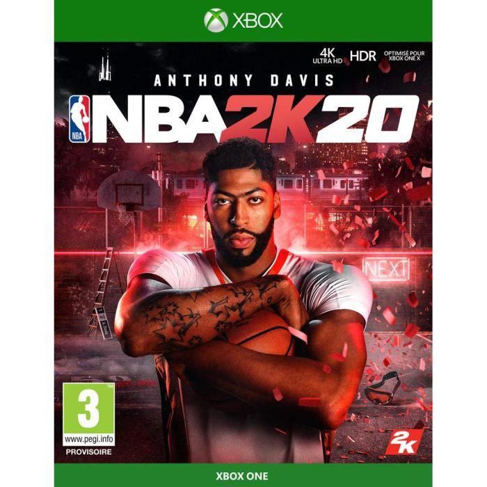 JEU XBOX ONE NBA 2K20 Xbox One + 1 Skull Sticker