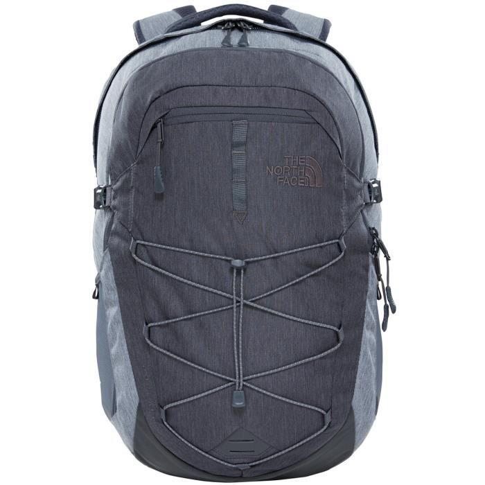 a7b510c7ae The North Face Sac à dos Borealis Femme TNF Dark Grey Heather/TNF Medium  Grey Heather