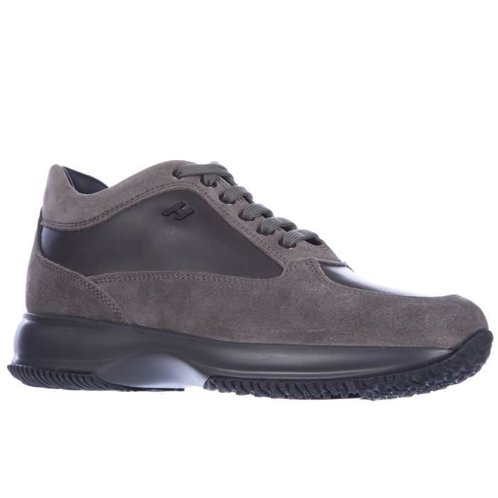 Chaussures baskets sneakers homme en daim interactive Hogan YPAXL6FZ