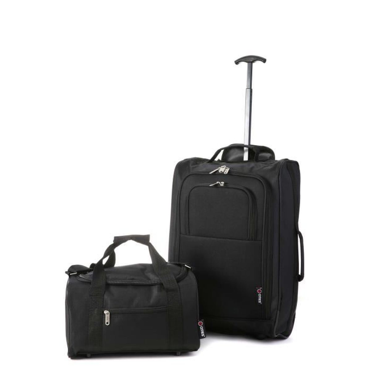 valise de cabine bagage main 55 x 40 x 20 cm deuxi me 35 x 20 x 20 achat vente valise. Black Bedroom Furniture Sets. Home Design Ideas