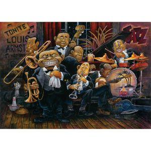 PUZZLE Puzzle 1500 pièces Bill Bell : Louis Armstrong et