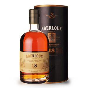 WHISKY BOURBON SCOTCH Aberlour 18 ans - Coffret - 50cl - Single Malt Sco