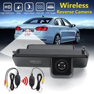 Plaque numéro de ligne de stationnement caméra marche arrière VW Jetta Touran Passat Caddy Skoda T5
