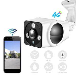 CAMÉRA IP Mini Surveillance 3G 4G Carte SIM HD 1080 P Wi-fi