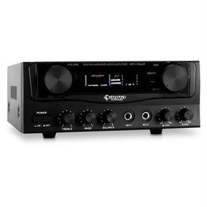 AMPLI HOME CINÉMA auna AMP-2 - Ampli Karaoke et Hifi/home cinéma sup