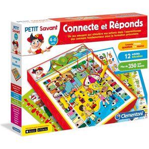 JEU D'APPRENTISSAGE CLEMENTONI Petit Savant - Connecte & Réponds - 4 a