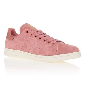 0a9711f64b6d8 BASKET ADIDAS ORIGINALS Baskets Stan smith - Femme - Rose