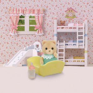 FIGURINE - PERSONNAGE SYLVANIAN FAMILIES 5073 Bear Baby Figurine Bébé Ou