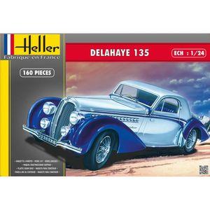 VOITURE À CONSTRUIRE Maquette voiture : Delahaye 135