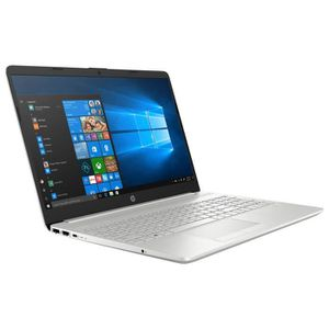 "Vente PC Portable HP 15-dw0025nf - Intel Core i3-8145U 4 Go SSD 256 Go + HDD 1 To 15.6"" LED Full HD Wi-Fi AC/Bluetooth Webcam Windows 10 Famille 64 pas cher"