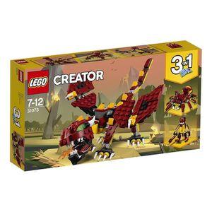 ASSEMBLAGE CONSTRUCTION LEGO® Creator 31073 Les créatures mythiques