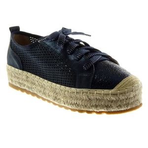 BASKET Angkorly - Chaussure Mode Baskets Espadrille plate