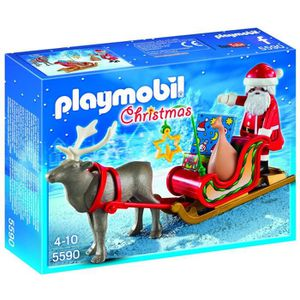 ASSEMBLAGE CONSTRUCTION Playmobil 5590 - Jeu De Construction - Père Noel A