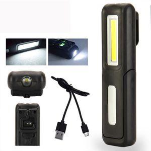 LAMPE DE POCHE Lampe Torche Aimantée LED 150 Lm Rechargeable USB