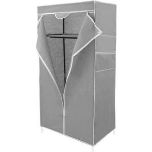 ARMOIRE DE CHAMBRE Armoire de rangement en tissu 70 x 45 x 155 cm - D