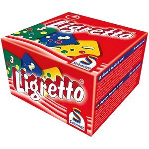 CARTES DE JEU SCHMIDT AND SPIELE Jeu de cartes - Ligretto - Roug
