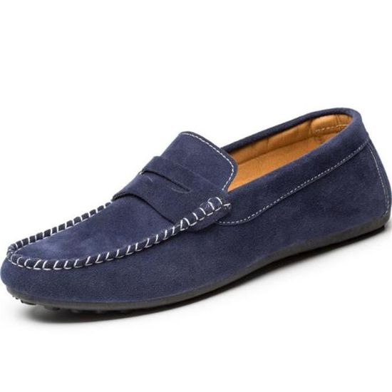 En Hommes Grande Chaussures 38 Taille Mode Homme Luxe Loafer Ete FwwTqd4PUn