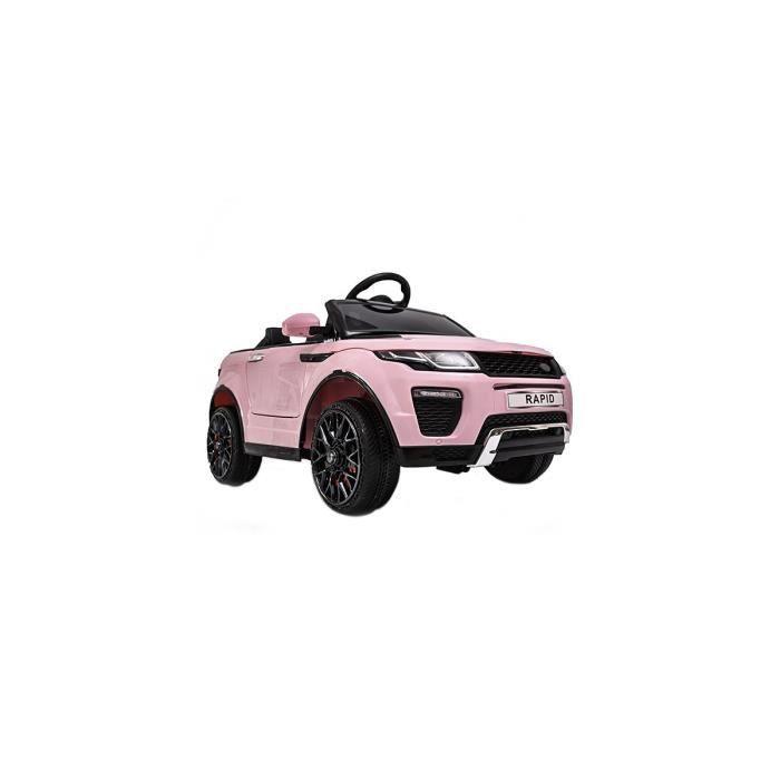 Range Rapid voiture électrique enfants télécommande 12v pas cher Rose - Voiture électrique pour enfant avec batterie 12v