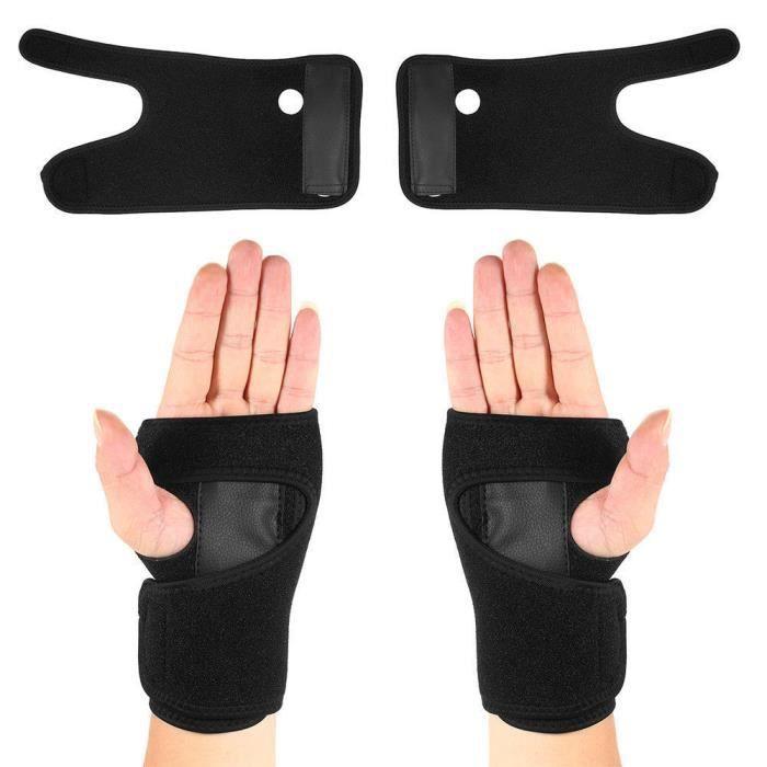 Attelle de poignet, support, tunnel carpien, attelle, sangle de stabilisation d'entorse de l'arthrite