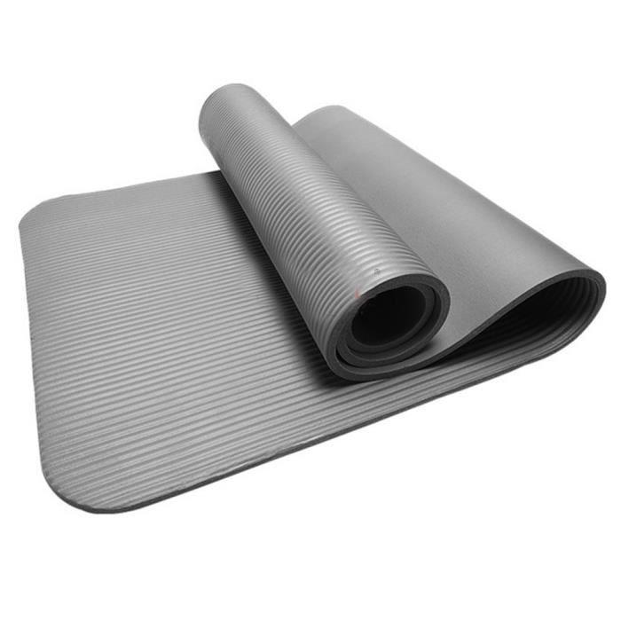 Yoga épais durable 15MM tapis anti-dérapant exercice Fitness Pad Mat perdre du poids GY WR539