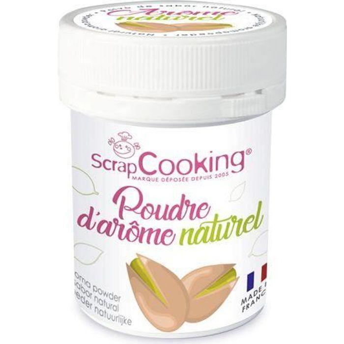 Arôme naturel de pistache Vous allez désormais pouvoir parfumer vos gâteaux et toutes vos pâtisseries grâce à la nouvelle gamme de