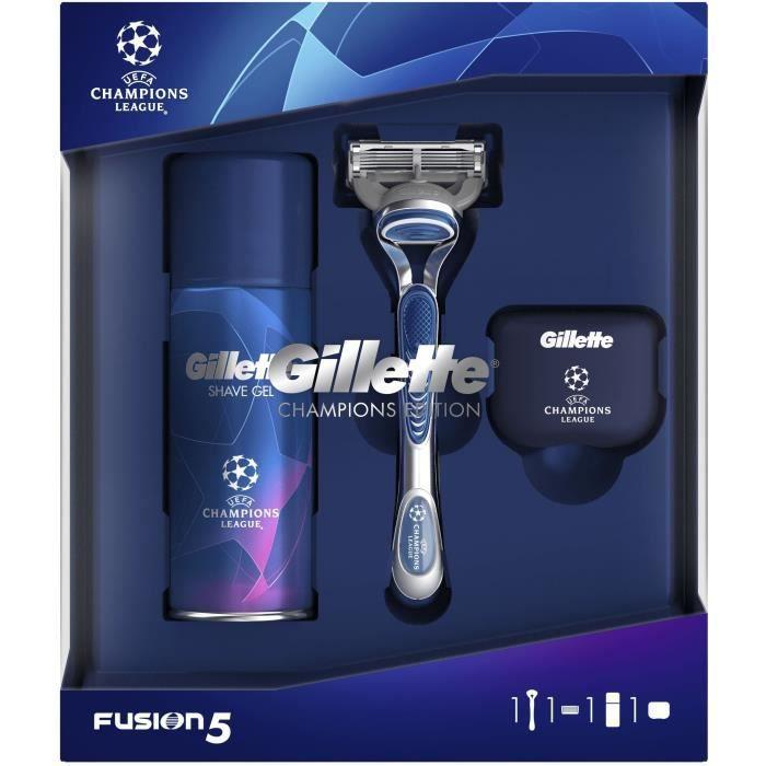 GILLETTE Coffret Cadeau Rasoir Fusion5