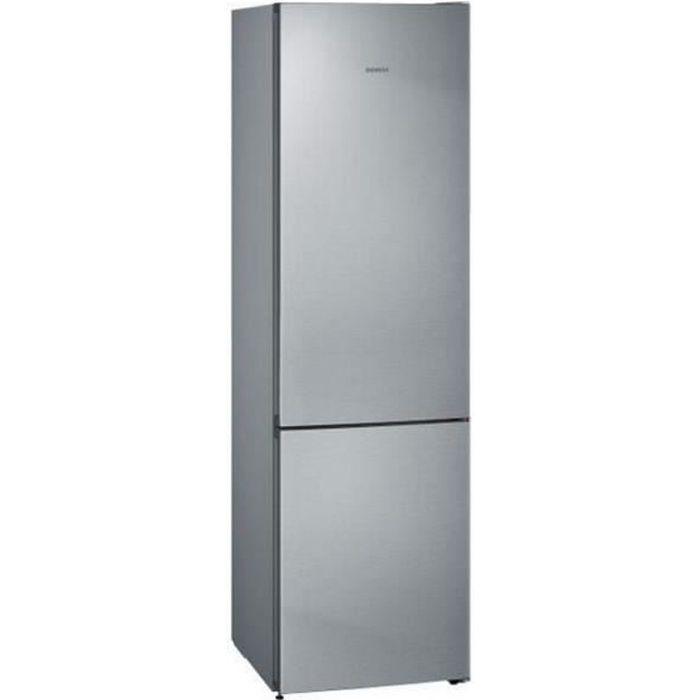 siemens - réfrigérateur combiné 60cm 366l a++ nofrost inox - kg39nviec