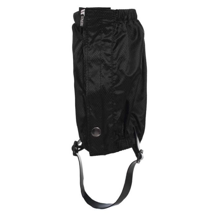Accessoires Trespass Knoydart Ankle Gaiters - Taille : One Size - Couleur marketing : Black