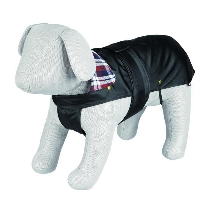 TRIXIE Manteau Paris L: 60 cm noir pour chien