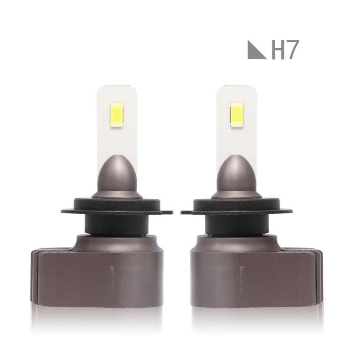 PHARES - OPTIQUES H7 LED Kit de conversion voiture phare faisceau am