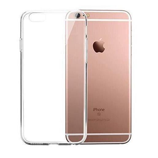 coque iphone 6 silicone dur transparent bord m