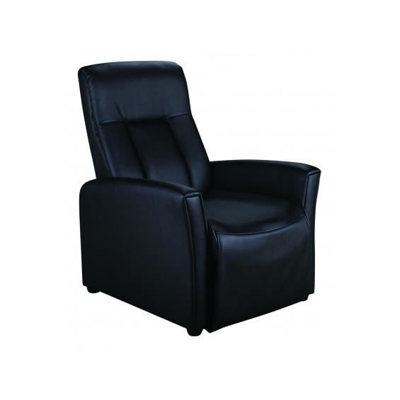 fiesta fauteuil relax noir. Black Bedroom Furniture Sets. Home Design Ideas