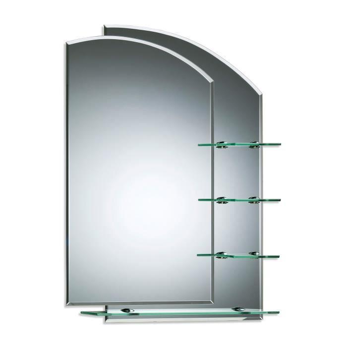 Miroir De Salle De Bain Avec Etageres Splendide Design