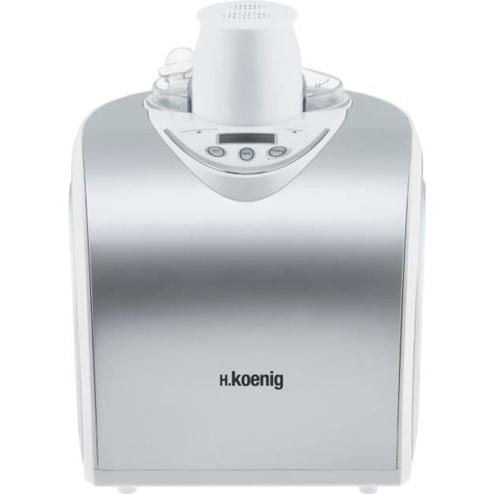 SORBETIÈRE H.KOENIG HF180 - Turbine à glace 1 L