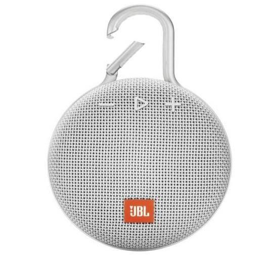 ENCEINTE NOMADE JBL CLIP 3 Blanche Enceinte Bluetooth - Waterproof