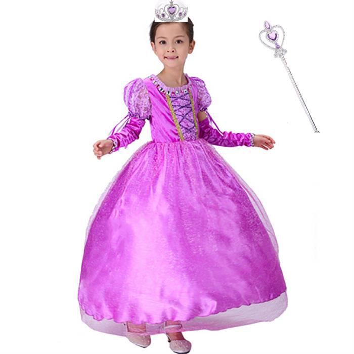 Deguisement Cosplay Princesse Fille Robe Costume Pour Carnaval