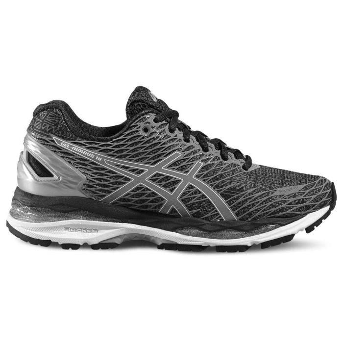 chaussures running homme gel nimbus 18 asics asics