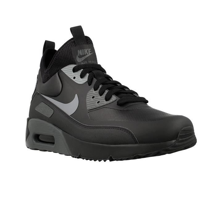 40a43119d67f NIKE AIR MAX 90 ULTRA MID WINTER Noir Noir - Achat   Vente basket ...