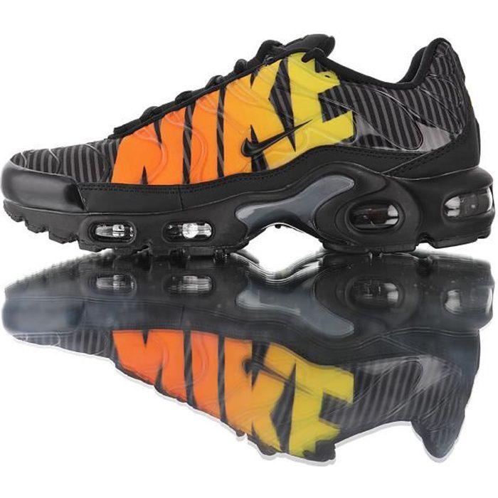 Baskets TN NIKEs AIRs Max Plu Homme Noir