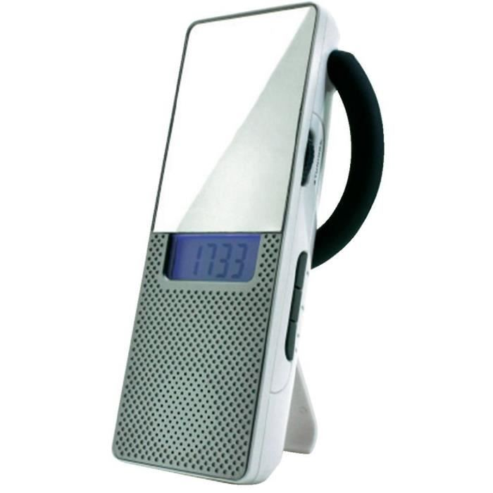 Radio de salle de bain soundmaster br70 blanc radio cd for Radio salle de bain darty