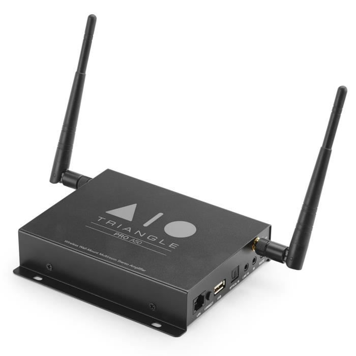 AMPLIFICATEUR HIFI Triangle AIO Pro A50 - Amplificateur stéréo 2 x 50