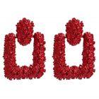 LINSUNG Boucle doreille Femme Boucles oreilles longues Clous oreilles de culture Zirconium cubique Cadeau parfait