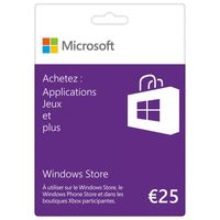 Carte Cadeau Windows Store