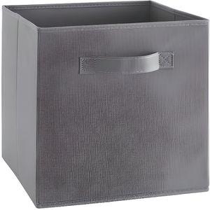 BOITE DE RANGEMENT COMPO Tiroir de rangement - Tissu - 27x27x28 cm -