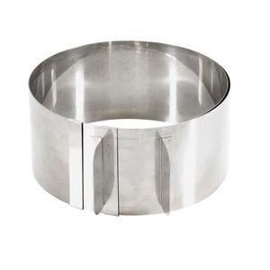 MOULE  EQUINOX Moule à gâteau extensible 15 à 30 cm gris