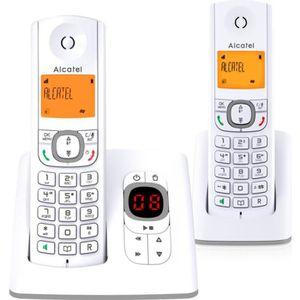 Téléphone fixe Alcatel F530 duo répondeur